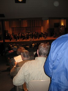 Baldwin Wallace Gamble Auditorium and The Cleveland Chamber Symphony