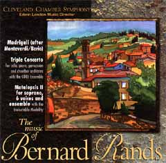 The Music of Bernard Rands