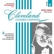 Cleveland Chamber Symphony - Vol 6