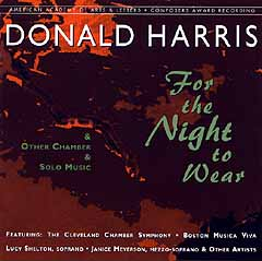 Cleveland Chamber Symphony - Donald Harris