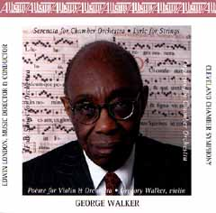 Cleveland Chamber Symphony - George Walker