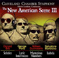The New American Scene III - Cleveland Chamber Symphony